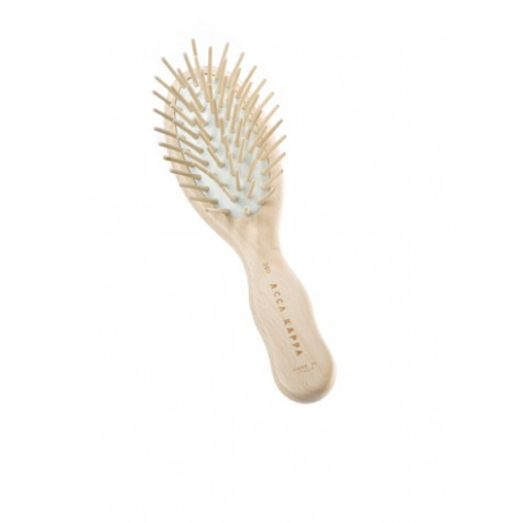 Small Travel Pneumatic Brush With Wooden Pins