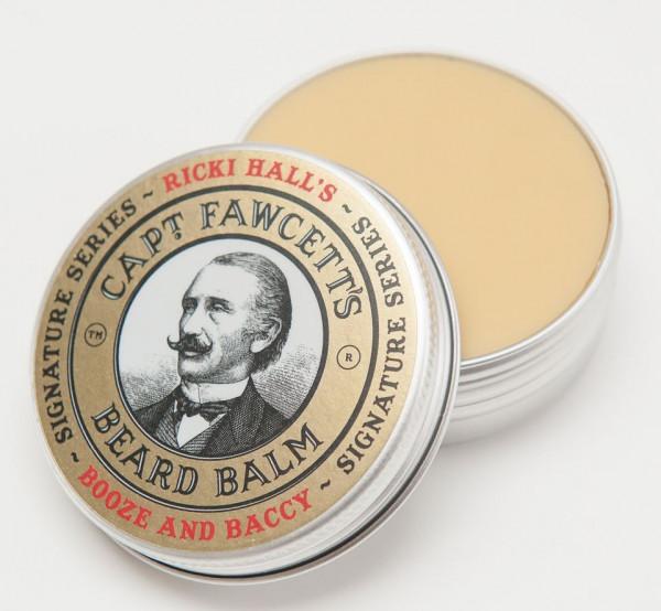 Captain Fawcett's Beard Balm Booze and Baccy
