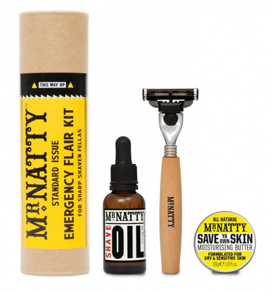 Mr. Natty Emergency Flair Shave Kit