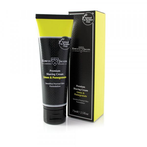Premium Shaving Cream Tube Limes & Pomegranate