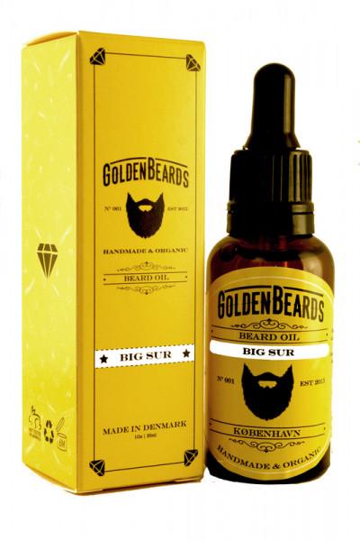 Golden Beards Beard Oil Big Sur