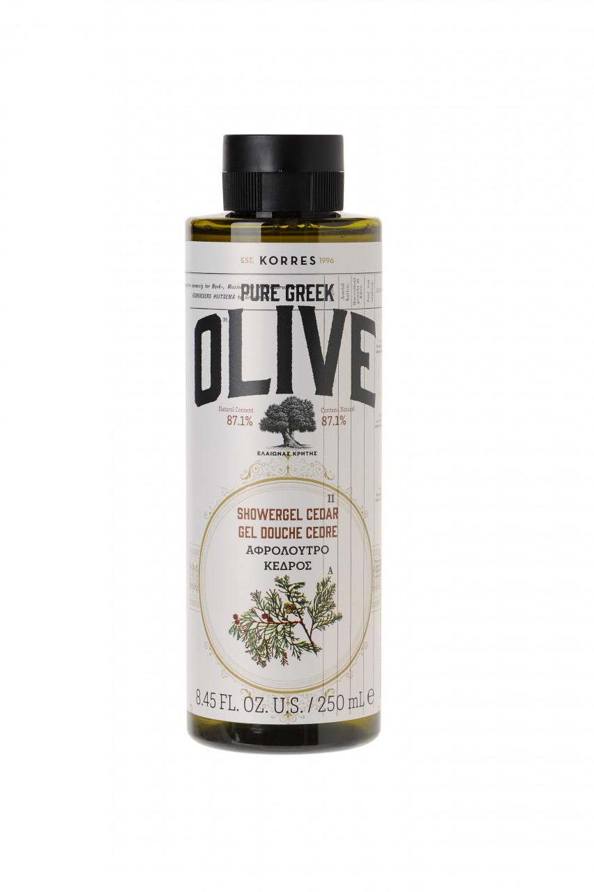 Korres Natural Products ´´Olive & Cedar Shower Gel´´ Duschgel