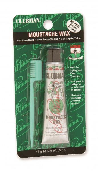 Clubman Pinaud Moustache Wax Neutral