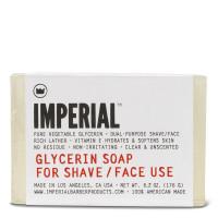 Imperial Barber Glycerin Shave & Face Soap Bar