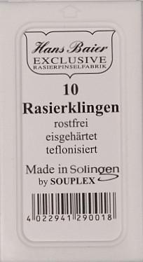 Hans Baier Exclusive Rasierklingen