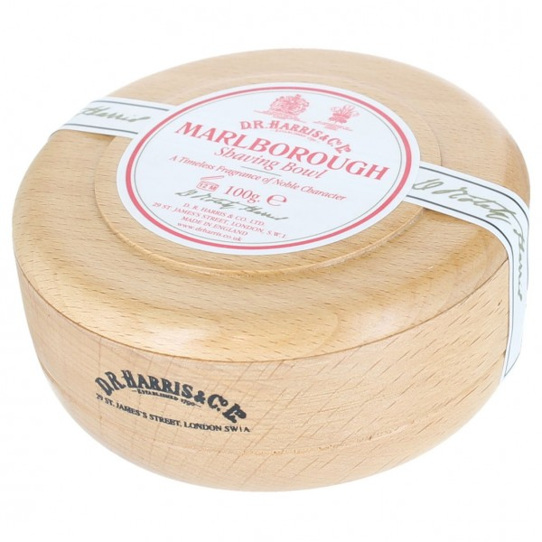 Marlborough Shaving Soap in Beech Bowl
