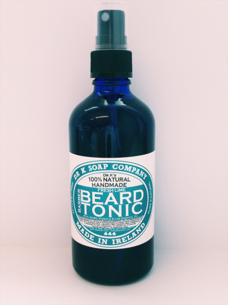 DR K Soap Company Fresh Lime Beard Tonic Spray