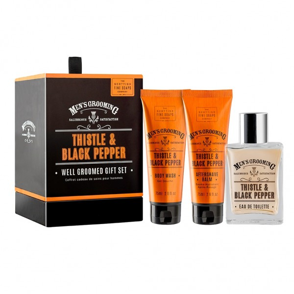 Scottish Fine Soaps Men´s Grooming Well Groomed Gift Set