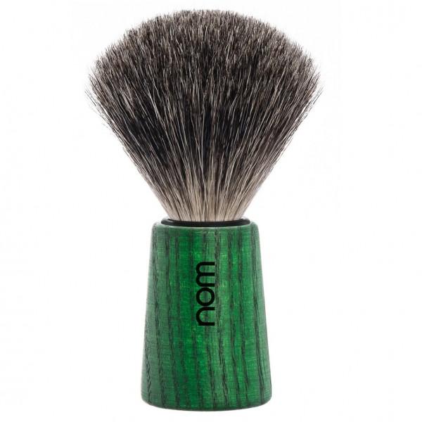 Rasierpinsel THEO reines Dachshaar Green Ash
