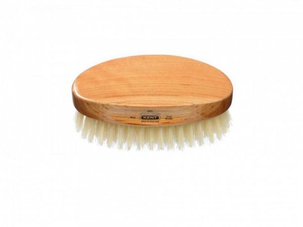 Ovale Herren Haarbürste aus Kirschholz