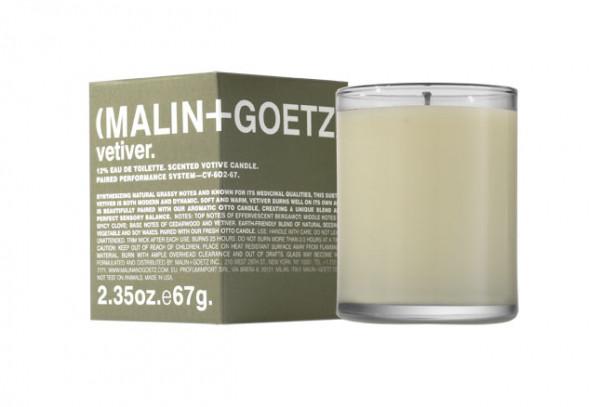 Vetivier Candle Duftkerze von Malin+Goetz