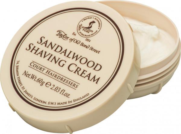 Sandalwood Shaving Cream Travel