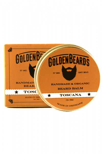 Golden Beards Beard Balm Toscana