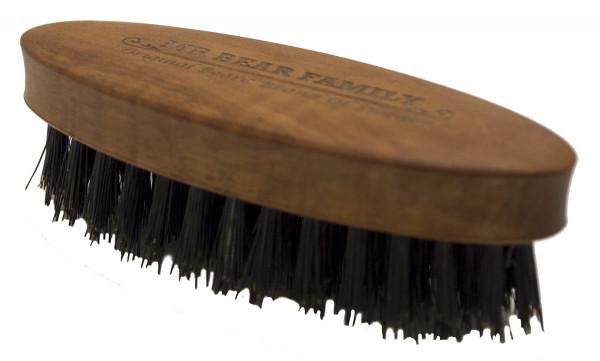 Mr. Bear Family Beard Brush Oval