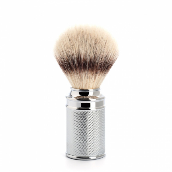 TRADITIONAL Rasierpinsel Silvertip Fibre® silver