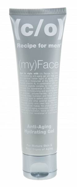 (c/o) Recipe for men (my)Face Anti Aging Hydrating Gel
