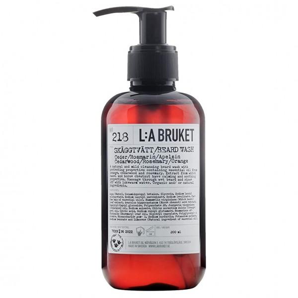 No. 218 Beard Wash Cedarwood/ Rosemary/ Orange 200 ml