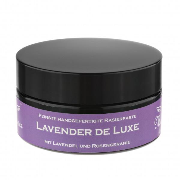 Lavender De Luxe Rasierpaste im Glastiegel