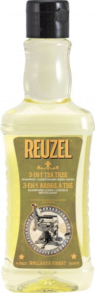 Reuzel 3 in 1 Tea Tree Shampoo 350 ml