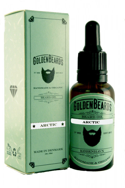 Golden Beards Beard Oil Arctic