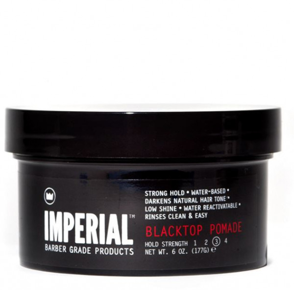 Imperial Barber Blacktop Pomade Hold Strengh 3