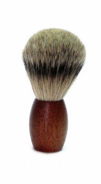 Rasierpinsel Zedernholz mit Zupfhaar