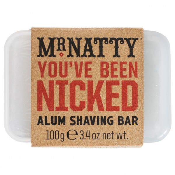 You've Been Nicked Alum Shaving Bar