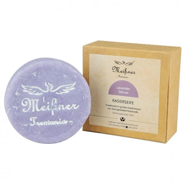 Rasierseife 95g Kartonschachtel Lavender Deluxe