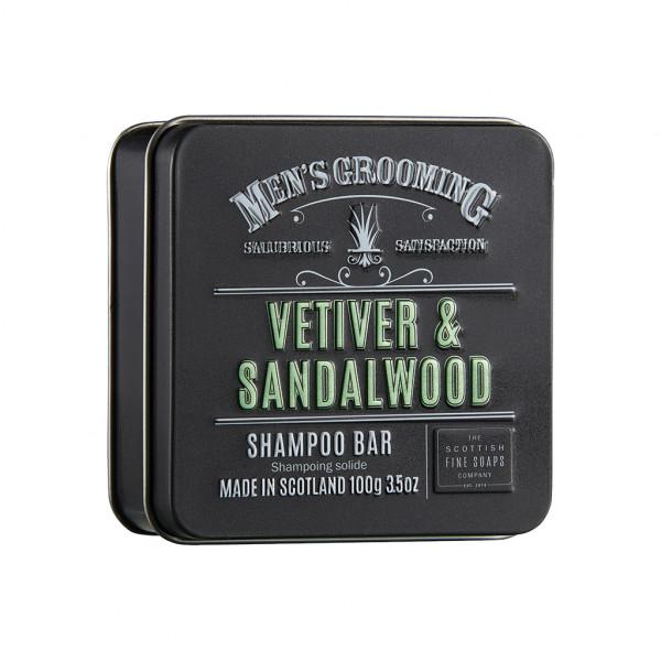 Vetiver & Sandalwood Shampoo Bar