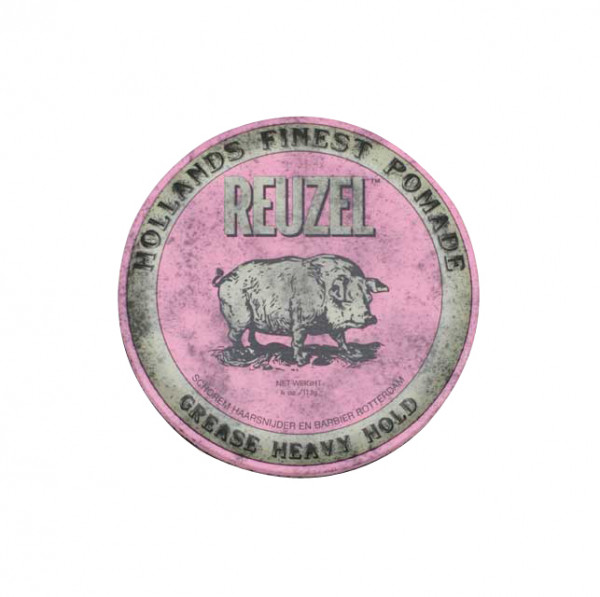 Heavy Hold Grease Pomade Pink Small