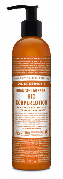 Lotion Orange Lavender