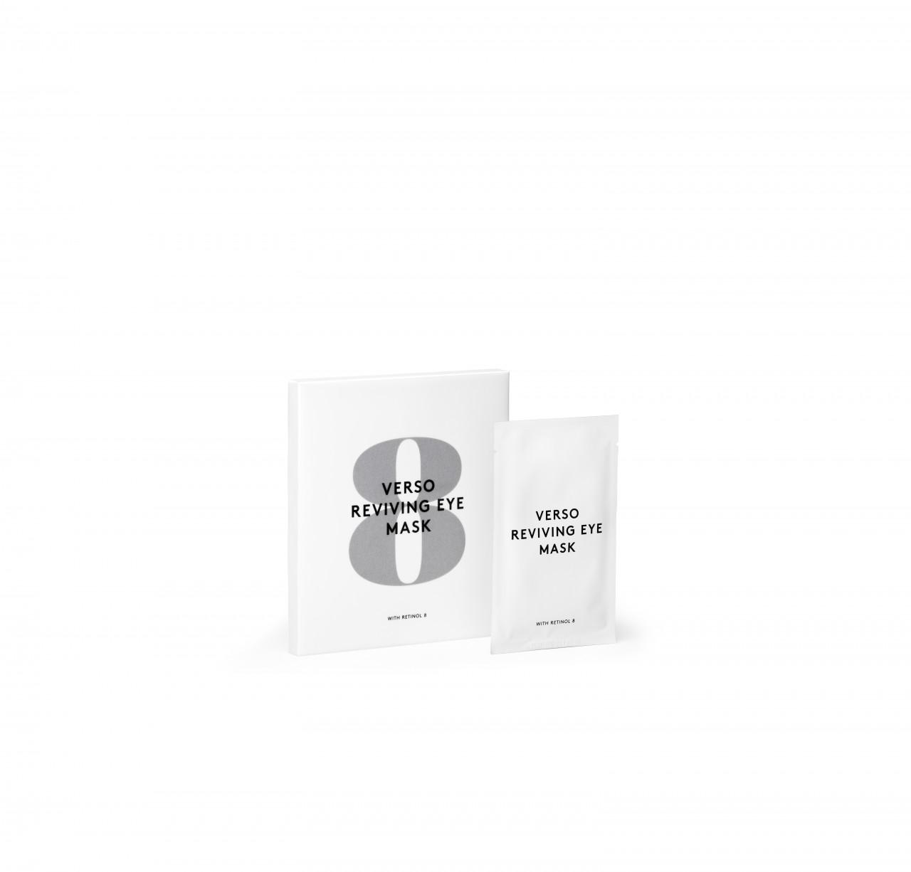 Verso Skincare Pflege Gesichtspflege Reviving Eye Mask 4 Stk.
