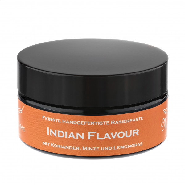 Indian Flavour Rasierpaste im Glastiegel
