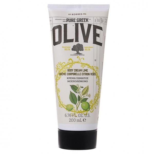 Olive & Lime Body Cream