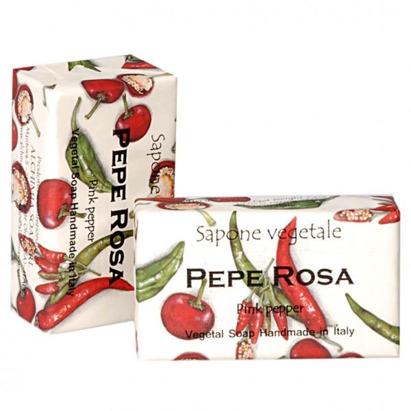 Alchimia Luxusseife Pepe Rosa, Rosa Pfeffer 200g
