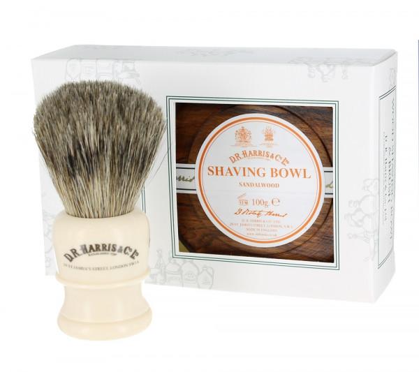 Sandalwood Shave Soap Set Mahogany von D.R. Harris