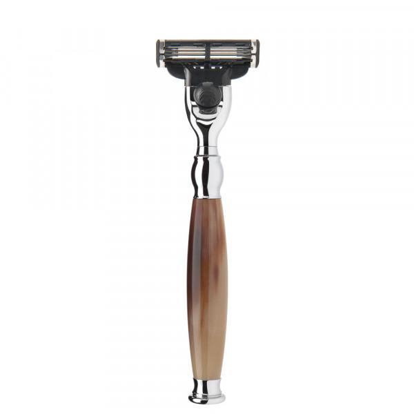 SOPHIST 3-Klingen-Rasierer Gillette® Mach3® - Griff Büffelhorn