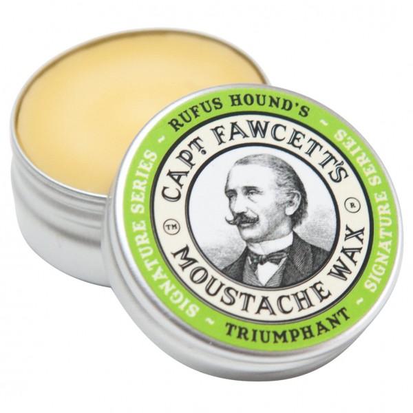 Rufus Hound's Triumphant Moustache Wax