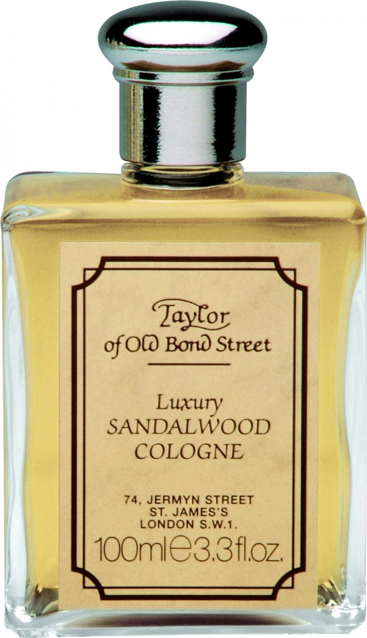 Taylor of old Bond Street Herrenpflege Sandelholz-Serie Luxury SandalwoodEau de Cologne Schüttflakon
