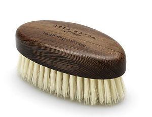 Bartbürste aus Wenge Holz mit weichen Borsten