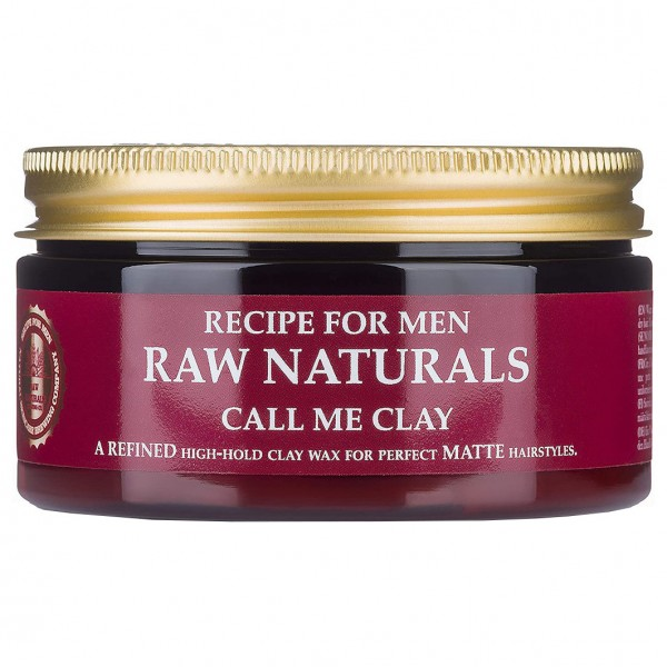 Recipe for men - Raw Naturals Call Me Clay