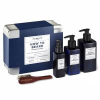 How to Beard Master Edition Bartpflegeset Geschenkset mit Reisegrößen