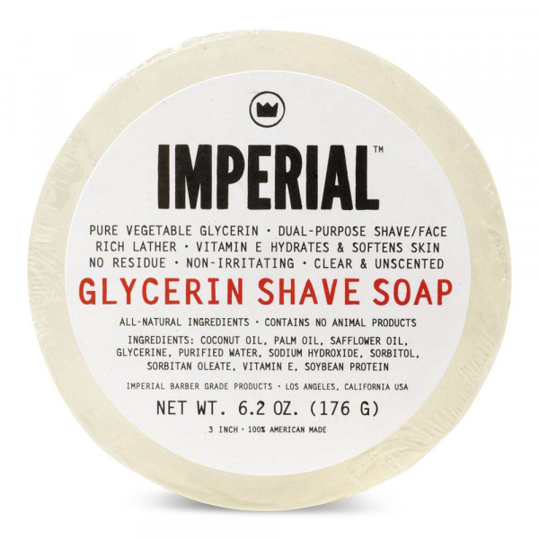 Glycerin Shave & Face Soap Puck