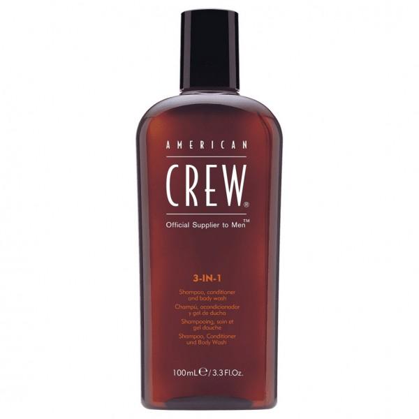 3-in-1 Body Wash, Shampoo und Conditioner Travel Size