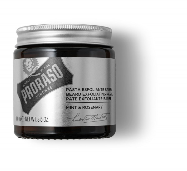 Beard Exfoliatiing Paste bartpeeling Pflege
