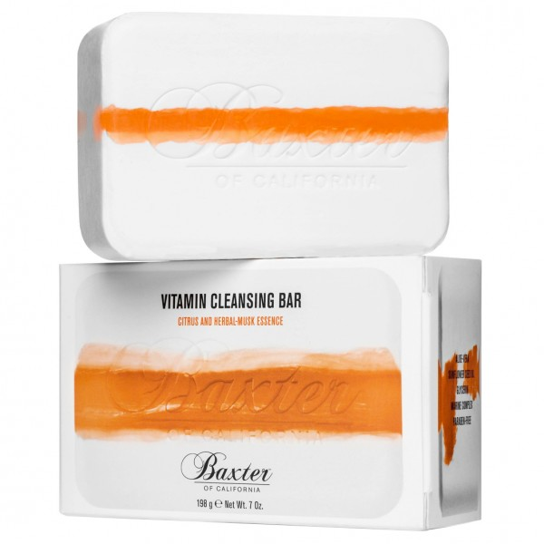 Vitamin Cleansing Bar Citrus and Herbal Musk