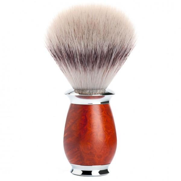 PURIST Rasierpinsel Silvertip Fibre® Griffmaterial Bruyère-Holz