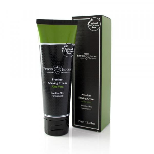 Premium Shaving Cream Tube Aloe Vera