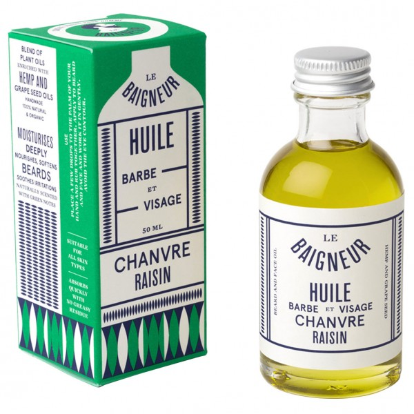 Hemp Grape Seed Beard & Face Oil