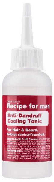 c/o Recipe for men Anti-Dandruff Cooling Tonic